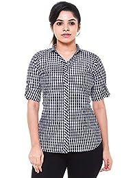 d2dbed68e69e9e EASY 2 WEAR ® Womens Checks Shirt (Sizes S to 6XL)