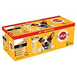 Pedigree Hundefutter Nassfutter Adult in Sauce, 40 Portionsbeutel (40 x 100g)