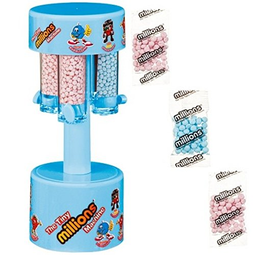Dispensador de Dulces Dulces en Miniatura para máquina de pequeños sabores – Rosa/Azul Disponible