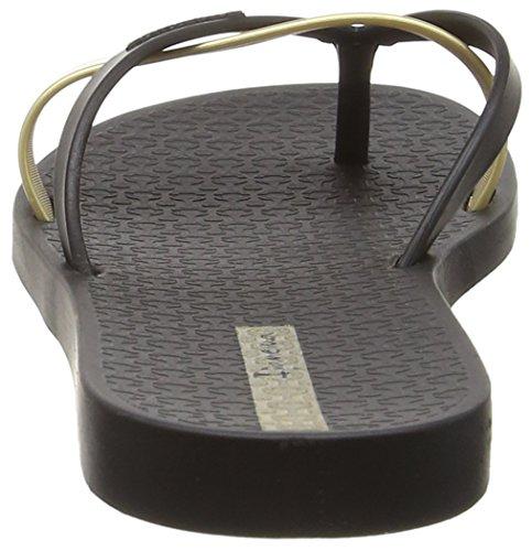 Ipanema Silk Premium, Sandales Plateforme femme Noir - Black (Black/Gold)