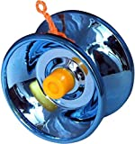 #9: Shivsoft Fine Quality High Gloss high Speed Metal YoYo Spinner Toy (1 pcs) (Color May Vary)