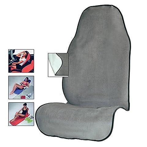 Autoyouth Housse de siège de voiture à la sueur de yoga Serviette Tapis de siège pour le fitness, salle de sport, course à pied, entraînement de Crossfit, DE PLAGE en microfibre de protection pour siège auto ¨ C à séchage rapide 1pièce