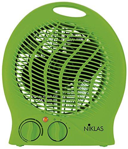 K2Calore KT0591 Calefactor eléctrico termoventilador, Color Verde