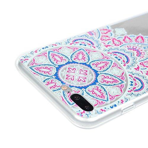 Coque iPhone 7 Plus / iPhone 8 Plus Mavis's Diary Étui Housse TPU Silicone Gel Coque de Protection Transparente Phone Case Cover Antichoc Protection écran Swag pour iPhone 7 Plus / iPhone 8 Plus 5.5'' Totem