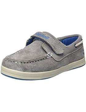 Timberland Dover Bay H&l Boatsteeple Grey with Mykonos Blue, Mocasines para Bebés