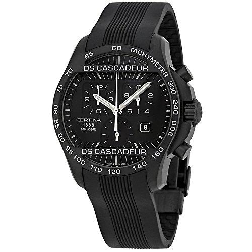 Certina DS Cascadeur Homme 42mm Noir Quartz Montre C003.617.17.050.00