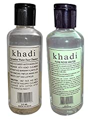 Khadi Rose water and Cucumber water combo Pack 420ml
