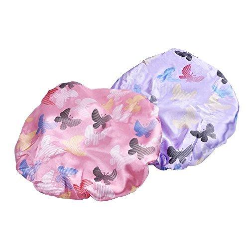 mudder-donne-impermeabile-cuffia-da-doccia-doppio-strato-cappello-doccia-spa-banda-elastica-2-pezzi-