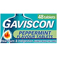 Gaviscon Peppermint Tablets, Pack of 48