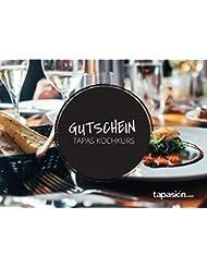 tapasión Geschenkgutschein über einen Tapas Kochkurs in Hamburg für 2 Personen