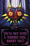 The Legend of Zelda Poster Terrible Fate, Majora's Mask (61cm x 91,5cm) + Ü-Poster