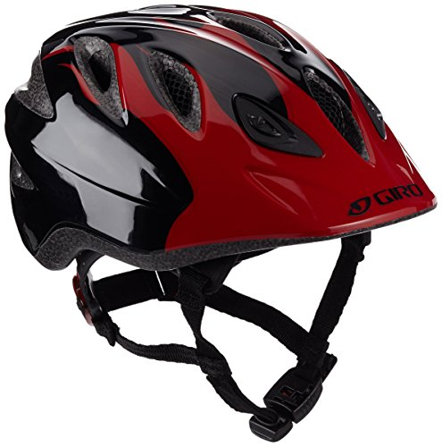 Price comparison product image Giro Rascal Children's Bicycle Helmet Red Red/Black Flames Size:46-50 cm