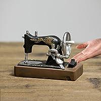 ZDQ Adornos Retro Vintage Creativo Gramófono Máquina de Coser Modelo Muebles Para El Hogar Gabinete de