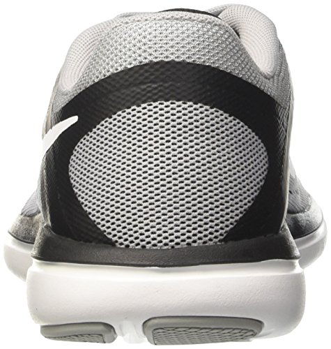Nike Flex 2016 Rn, chaussures de course homme Gris (Wolf Grey/white/black)
