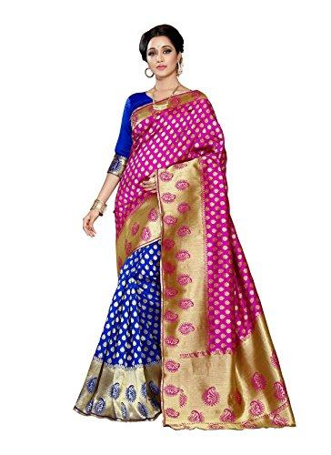 Sarees(Women's Clothing Sarees for women P~Banarasi Sarees South Indian Sarees P~Banarasi Silk...