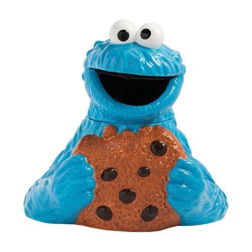 Vandor Tasche aus Blech Krümelmonster Cookie Jar mehrfarbig
