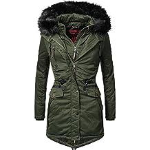 Marikoo Damen Winter Mantel Winterparka Rose (vegan hergestellt) 8 Farben  XS-XXL 54d797d94d