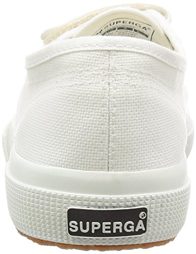 Superga 2750-cot3velu, Baskets Basses Mixte Adulte Blanc (White)