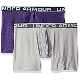 Under Armour Original 6in 2 Pack Novlty Ropa Interior, Hombre