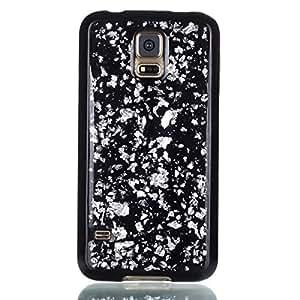 Per Samsung Galaxy S5 i9600 Copertina Sottile Cristallo morbido antiurto lucido Conchiglia Ultra magro In forma anti-graffio morbido Copertina TPU protettivo flessibile Conchiglia - Argento