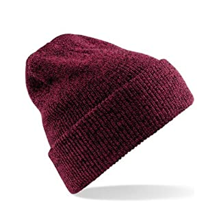 Heritage Style Beanie Hat Taille unique,Rot - Antique Burgundy
