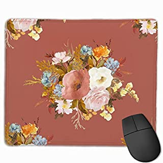 Autumn Love - Rust_91002 Mouse pad Custom Gaming Mousepad Nonslip Rubber Backing 9.8