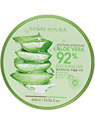Nature Republic Gel apaisant et hydratant à base d'Aloe vera 92 % 300 ml