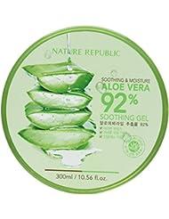 Nature Republic Gel apaisant et hydratant à base d'Aloe vera 92% 300 ml