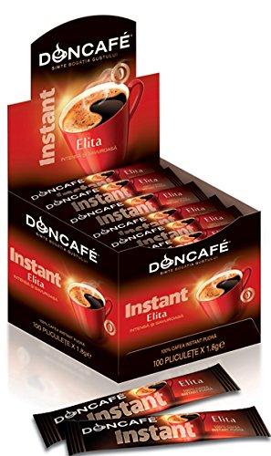 Doncafé Elita Instant Cafe - Löslicher Bohnenkaffee (100 Beutel)