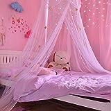 Moskitonetze Insektenschutz Babybett vorhang Baldachin Betthimmel Moskitonetz abweisend Insekten Kinder Prinzessin Zelte Schutz Dekoration Bettzubehör für Kinderzimmer oder 1.2m 1.5m 1.8m...