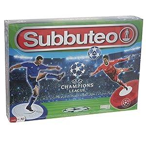 Giochi Preziosi-Subbuteo Edición Champions League, con 2angulares, Accesorios y Campo de fútbol