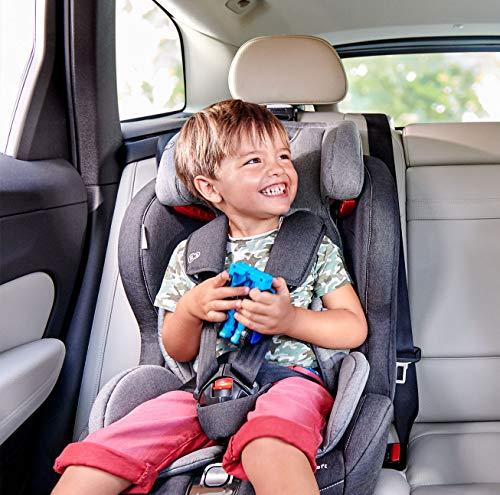 Kinderkraft SAFETYFIX ISOFIX Kindersitz Autokindersitz 9 bis 36 kg gruppe 1 2 3 (Dunkelblau)