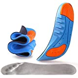 TOWINO® Sports Insole Silicone Gel Insoles Sports Running Insoles Massaging Shoe Inserts Pad Shock Absorption (Size:7-11)