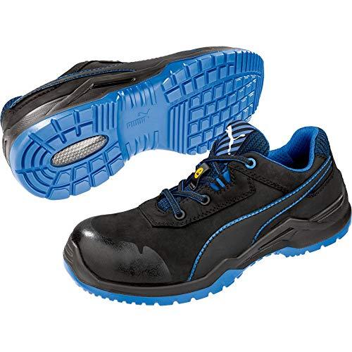 Puma 644220 Argon Blue Low - S3 Sicherheitsschuhe 46 Schwarz/Blau