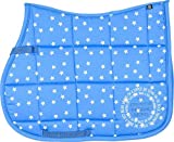 Imperial Riding VS Schabracke Hollywood Baumwolle allover Star Print Sommer 2017 (Pony, blue)