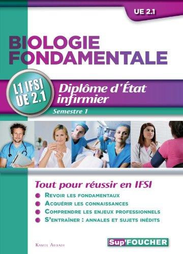 DEI - Biologie fondamentale L1 IFSI UE 2.1. Semestre 1