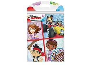 Disney Junior - Crayones de Cera Gruesa, Color Rojo