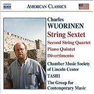 Wuorinen: String Sextet / String Quartet No. 2 / Piano Quintet / Divertimento