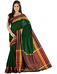 Harsh Sarees Cotton Saree (Gud-1165_Green)