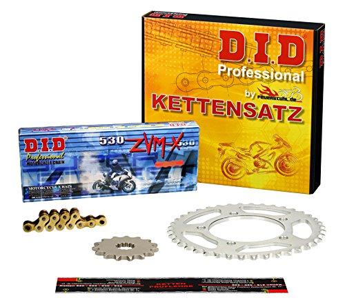 Preisvergleich Produktbild Kettensatz / Kettenkit Yamaha YZF-R6,  2003-2005,  Typ RJ05,  RJ09,  DID X-Ring (ZVM-X gold) super verstärkt