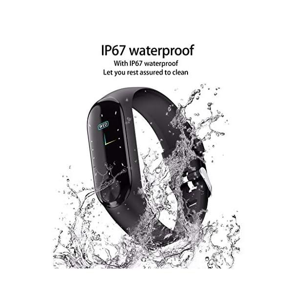 Smartwatch Unisex Miss Fortan Reloj Digital Deportes Fitness Actividad Reloj Mujer Hombre Impermeable Reloj de Pulsera… 6
