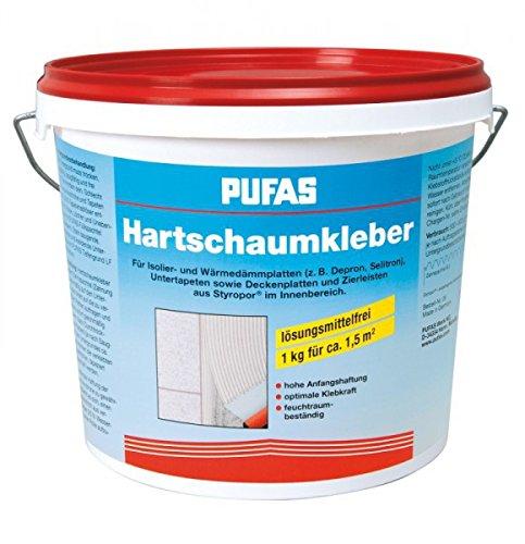 Pufas Hartschaumkleber Polystyrol- und Hartschaumplatten 4KG