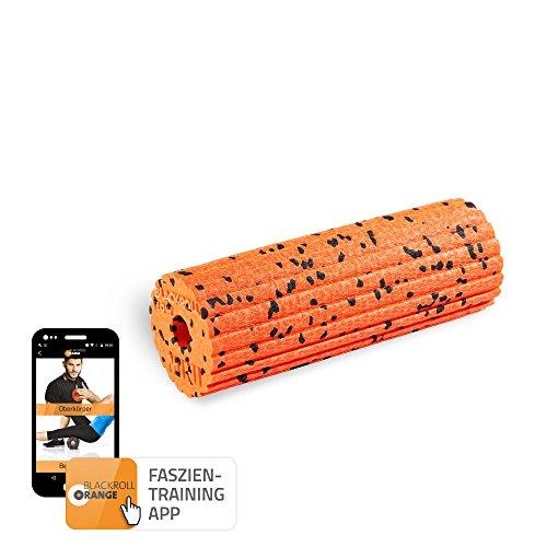 blackroll-orange Mini Flow Faszienrolle