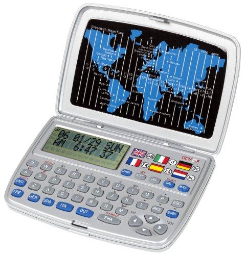 Genie T-6L Sprachenübersetzer (6 Sprachen, 30000 Wörtern) silber