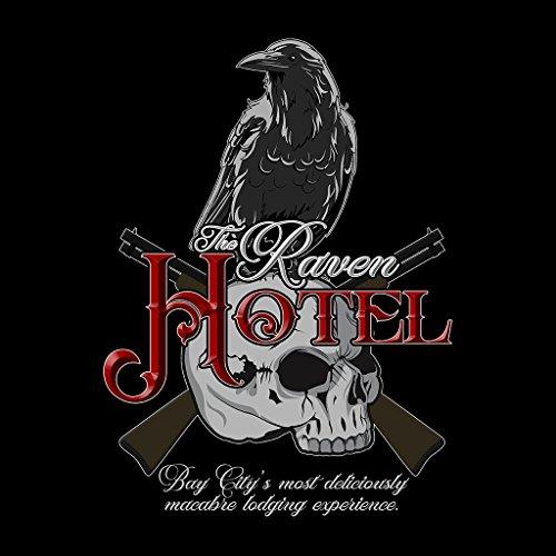 The Raven Hotel Altered Carbon Women's Hooded Sweatshirt Black