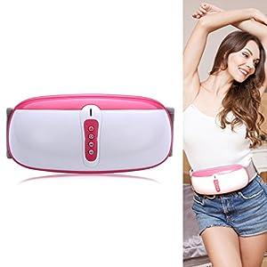 ZEROVIDA Bauch Abnehmen Vibrationsgürtel mit Wärmefunktion Bauchweggürtel Bauch Massage Bauchfett Verbrennen Gürtel Gewichtsverlust Massage-Gurt-Elektrische für Abnehmen und Verdauung Fördern