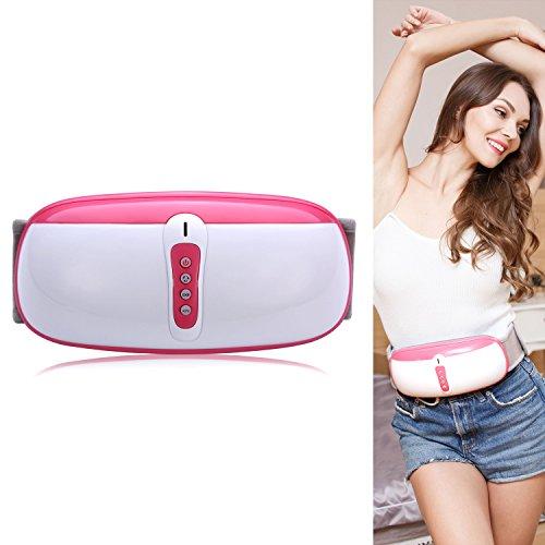 ZEROVIDA Bauch Abnehmen Massagegürtel Bauchweggürtel Bauch Massage Vibrationsgürtel Bauchfett Verbrennen Gürtel Gewichtsverlust Massage-Gurt-Elektrische für Abnehmen und Verdauung Fördern