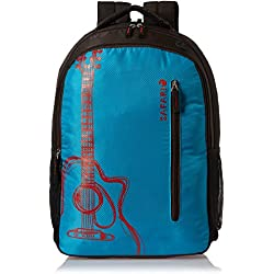 Safari 30 Ltrs Blue Laptop Bag (Guitar-Blue-LB)