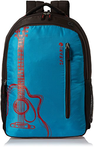 Safari 30 ltrs Laptop Backpack (Guitar-Blue-LB)