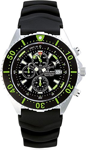 Chris Benz Uhr Taucheruhr Depthmeter Chronograph CB-C300-G-KB